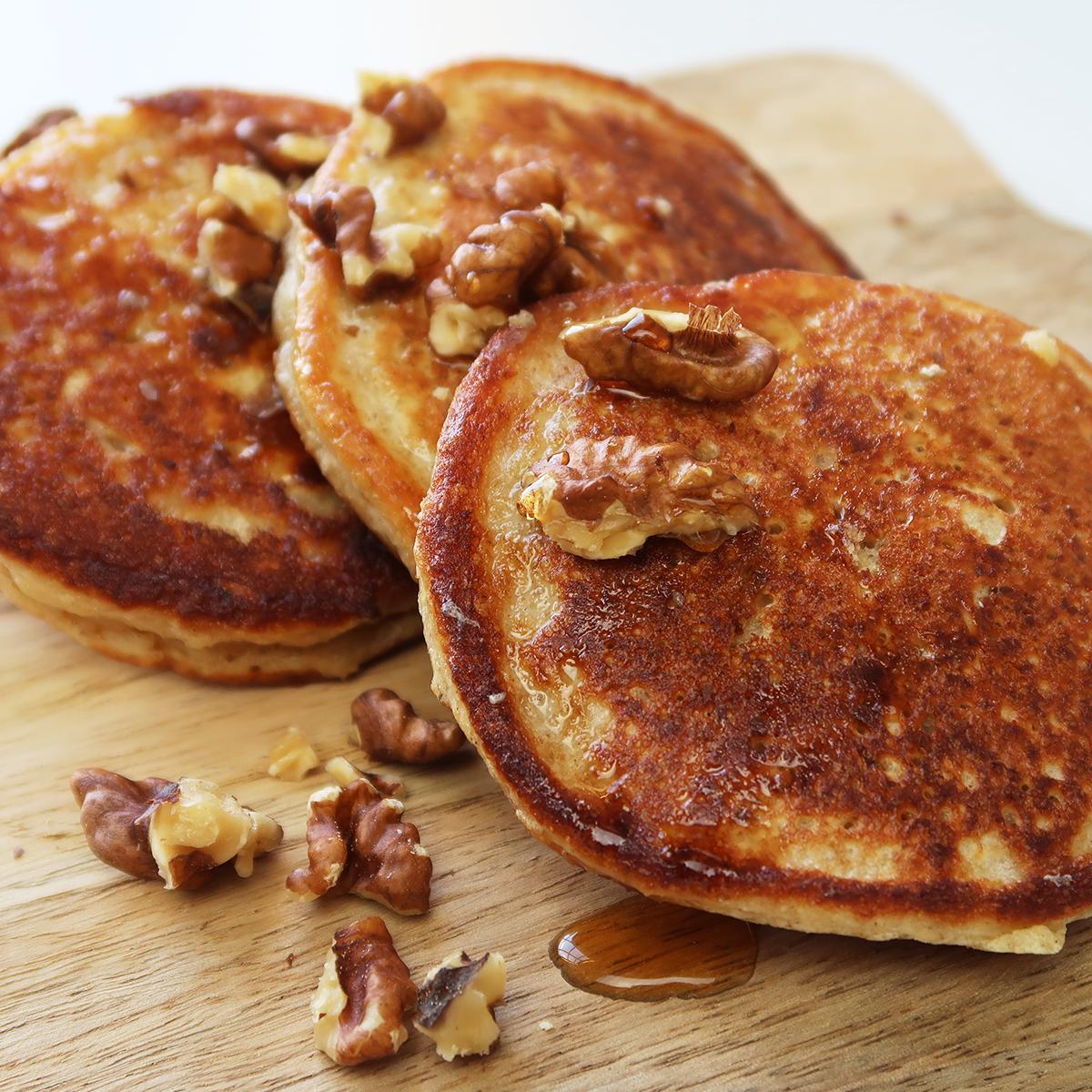 Pumpkin Spice Protein Pancakes van DoorMeal | Personal ...