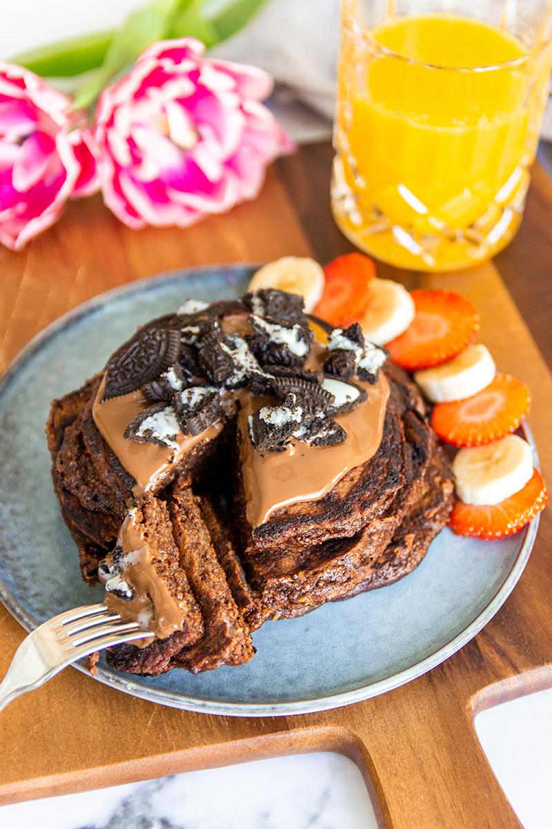 chocolade pannenkoeken